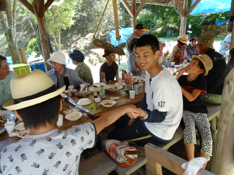 地域交流会2014    in  孝子の森     by     (TATE-misaki)_c0108460_01523072.jpg