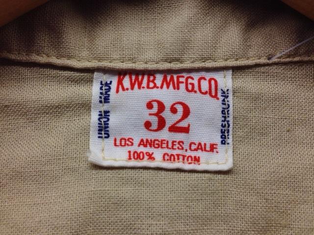 6月11日(水)大阪店ミッドウエスト入荷!!#3ソフトワーク編!!50\'s Vintage Cotton ShopJKT!!(大阪アメ村店)_c0078587_13203260.jpg