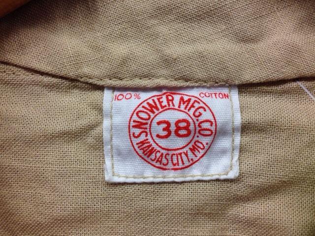 6月11日(水)大阪店ミッドウエスト入荷!!#3ソフトワーク編!!50\'s Vintage Cotton ShopJKT!!(大阪アメ村店)_c0078587_1328437.jpg