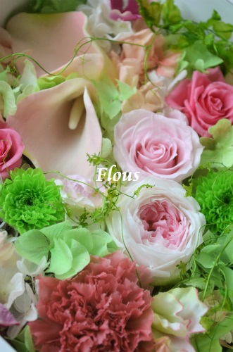 お花畑 ピンクVer_f0324899_11042745.jpg