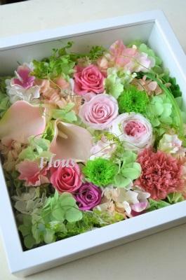お花畑 ピンクVer_f0324899_11044862.jpg