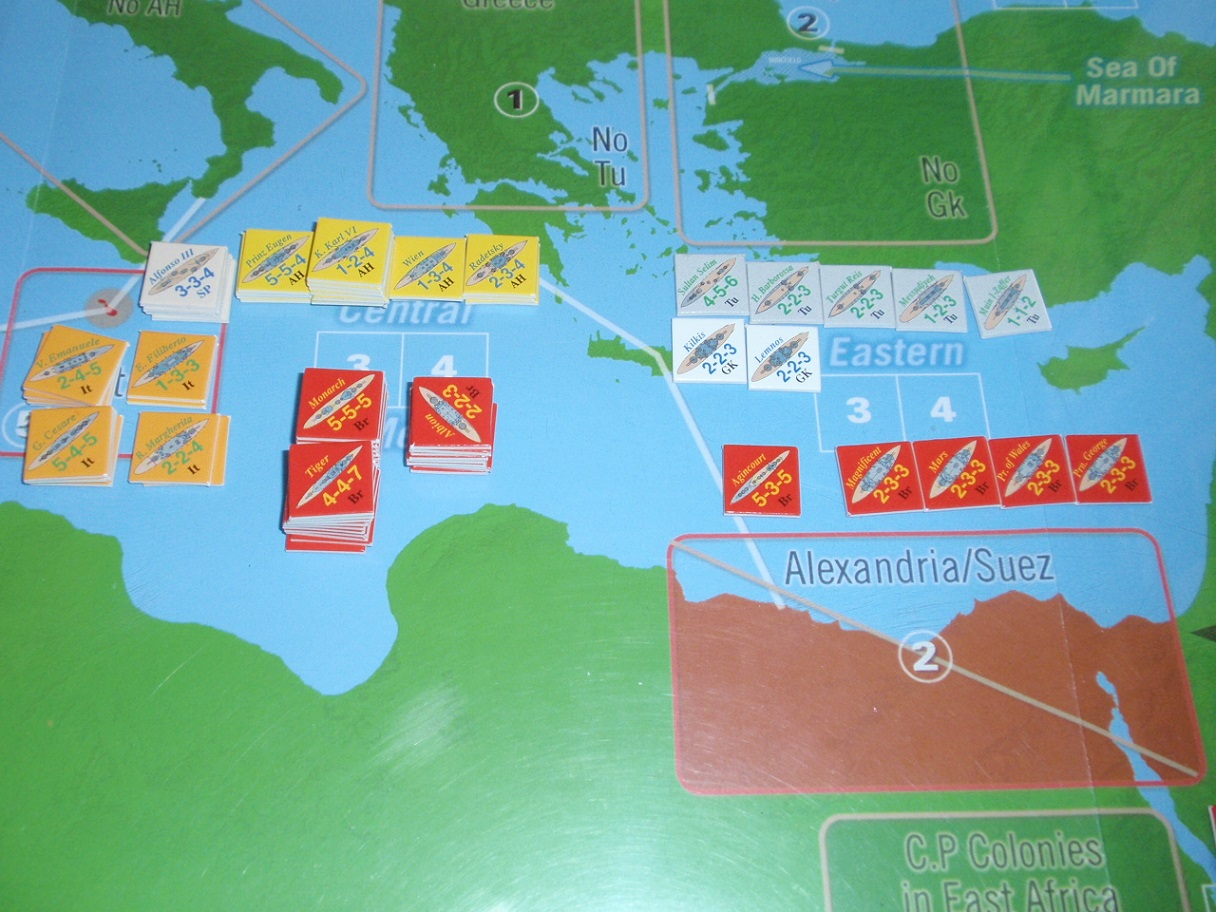 Decision Games「Nine Navies War」④_b0162202_18392374.jpg