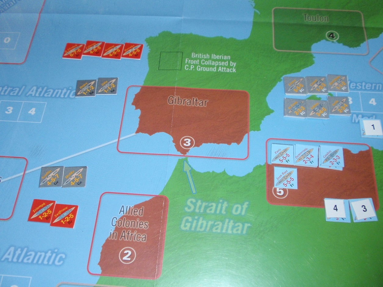 Decision Games「Nine Navies War」④_b0162202_18395793.jpg