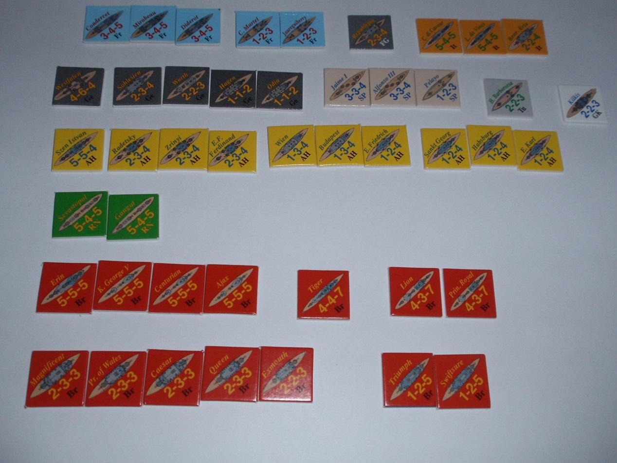 Decision Games「Nine Navies War」④_b0162202_18422557.jpg