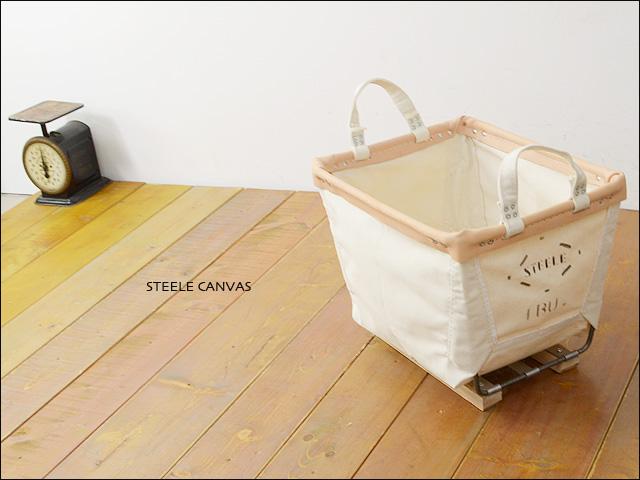 STEELE CANVAS [スティールキャンバス] Square Basket [スクエアバスケット] _f0051306_2141521.jpg