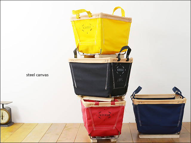 STEELE CANVAS [スティールキャンバス] 20 1BU Square Basket COLOR [スクエアバスケットカラー] _f0051306_2144241.jpg