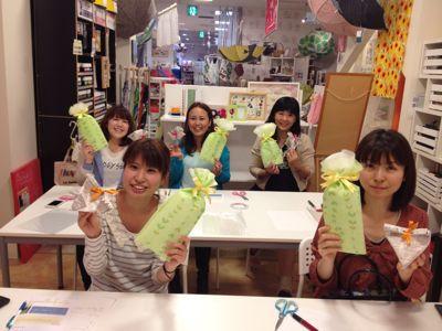女子塾限定ワークショップ! ラッピング講座_e0112378_15391152.jpg
