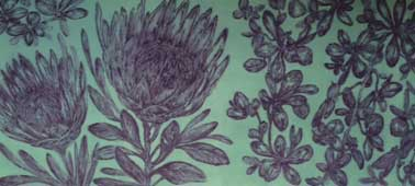 本日より、栫美奈子 銅版画と扇子展_c0218903_1635348.jpg