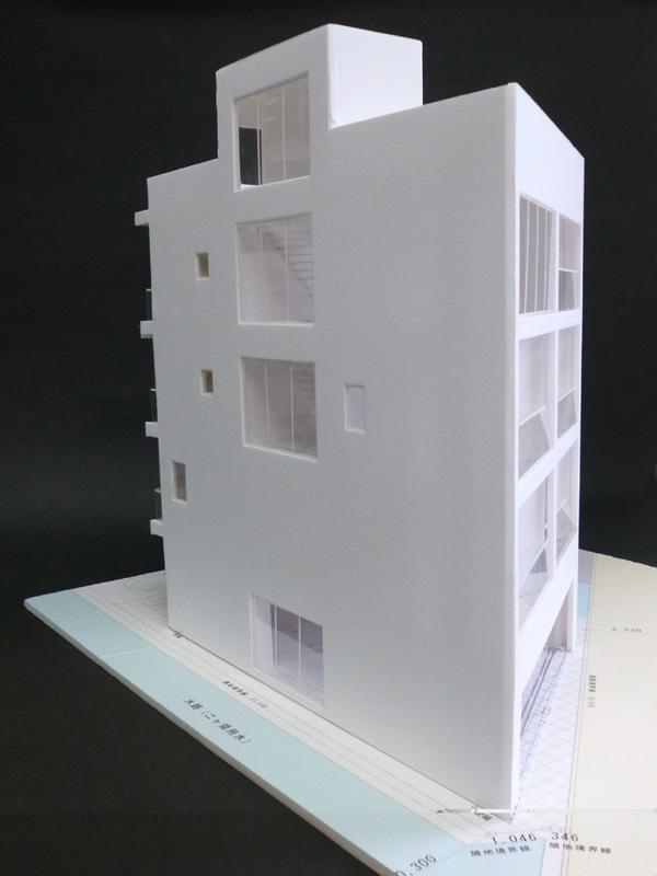 Mビル計画 模型写真_a0147436_18205175.jpg