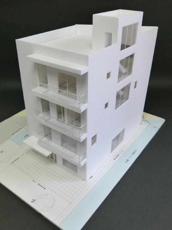 Mビル計画 模型写真_a0147436_182165.jpg
