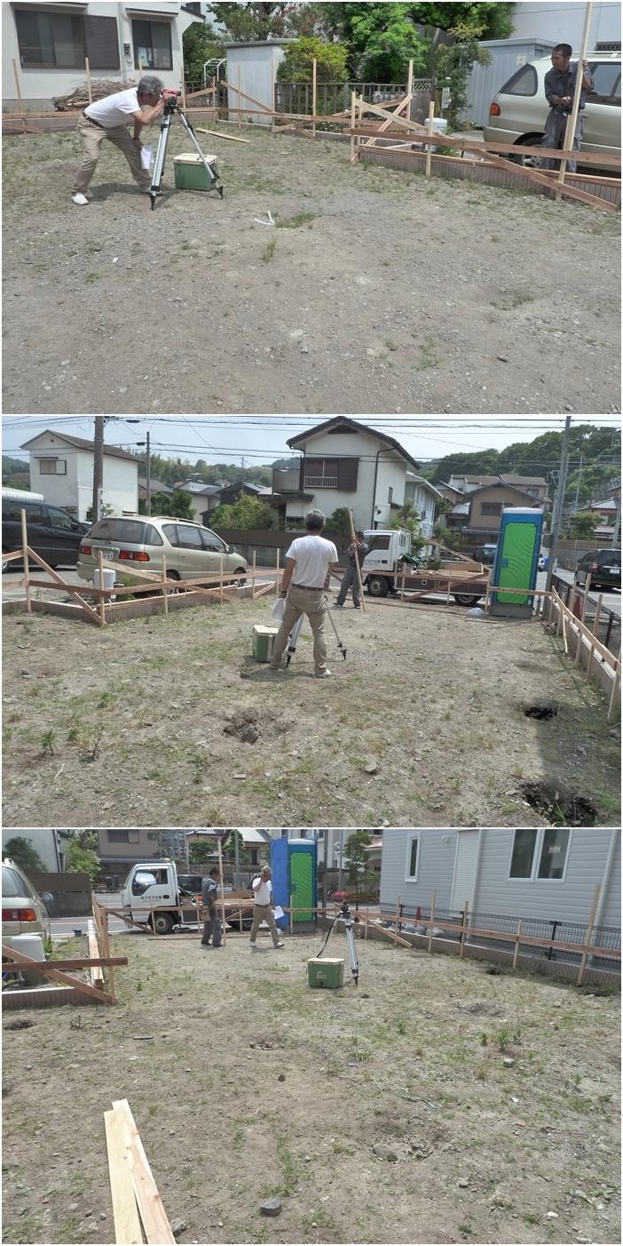 鎌倉の家☆基礎工事がはじまりました_c0152341_11104457.jpg