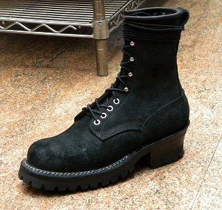 WHITE\'S BOOTS SMOKE JUMPER REGULAR TOE BLAC- R/O_f0349544_11481298.jpg