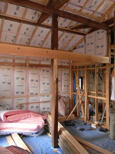 『リボーンハウス』内装工事が進んでいます。_e0197748_14591881.jpg