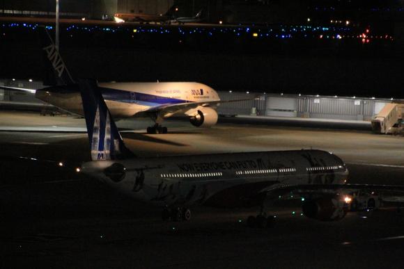 羽田空港国際線レポ  午前0時頃。。_d0202264_21443438.jpg
