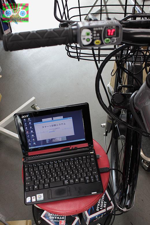 電動アシスト自転車もコンピューター診断_e0126901_09570698.jpg