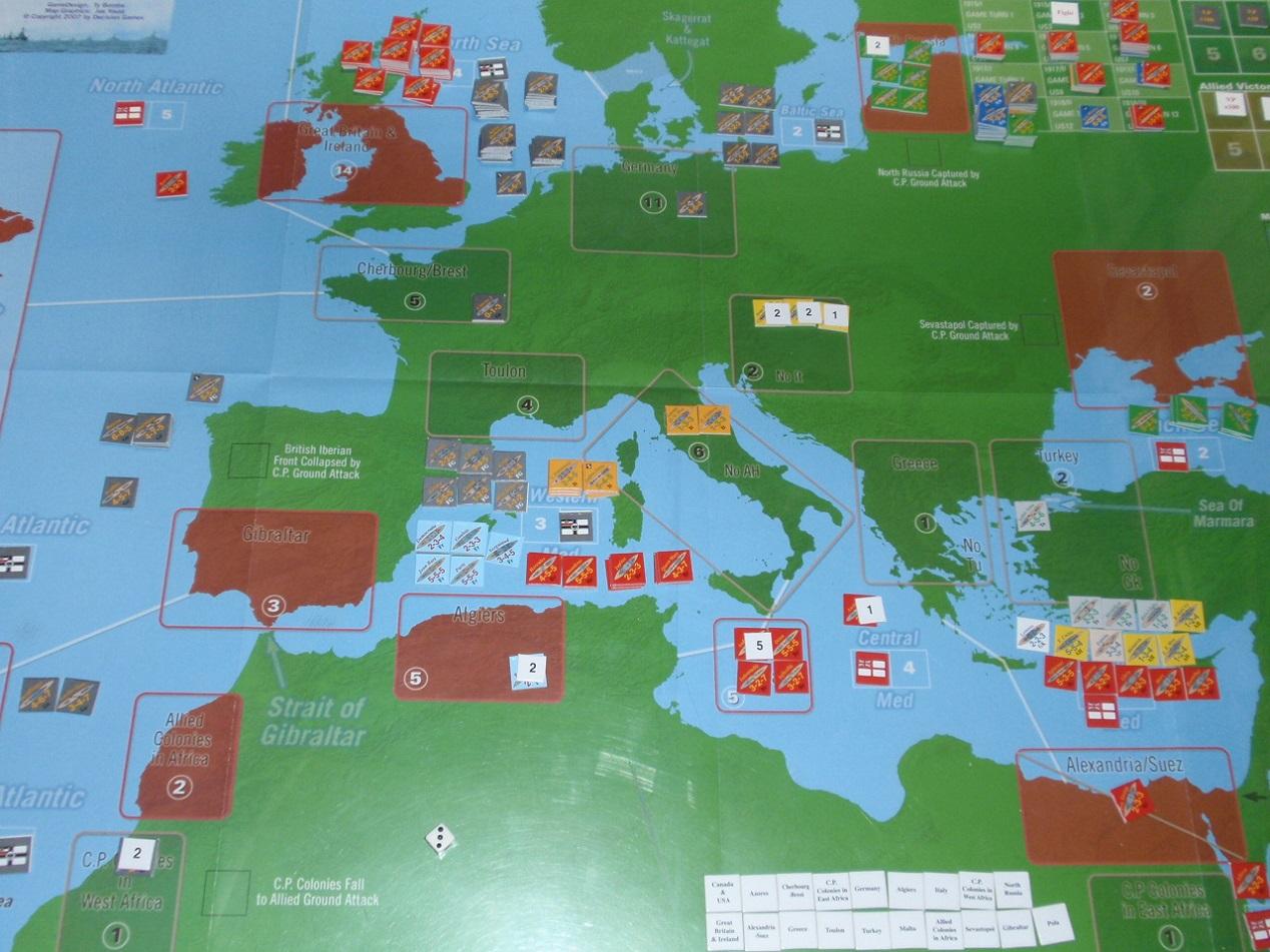 Decision Games「Nine Navies War」⑤_b0162202_18242225.jpg