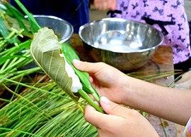 伝統の粽(ちまき)を作る_b0102572_1542365.jpg