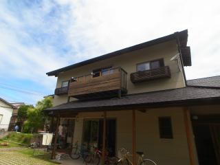 屋根上へのベランダ増築_f0059988_1613113.jpg