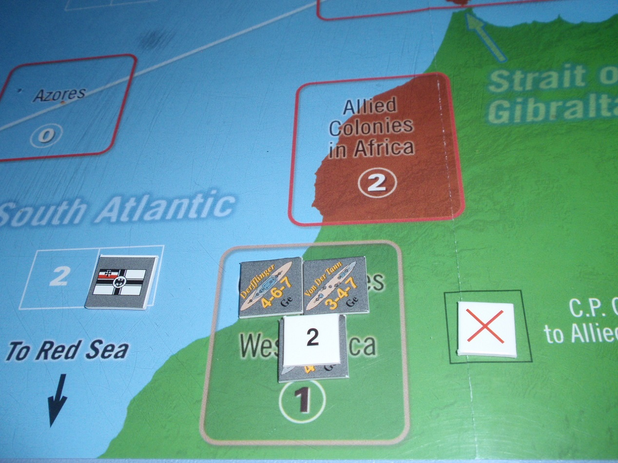 Decision Games「Nine Navies War」⑥_b0162202_18484979.jpg