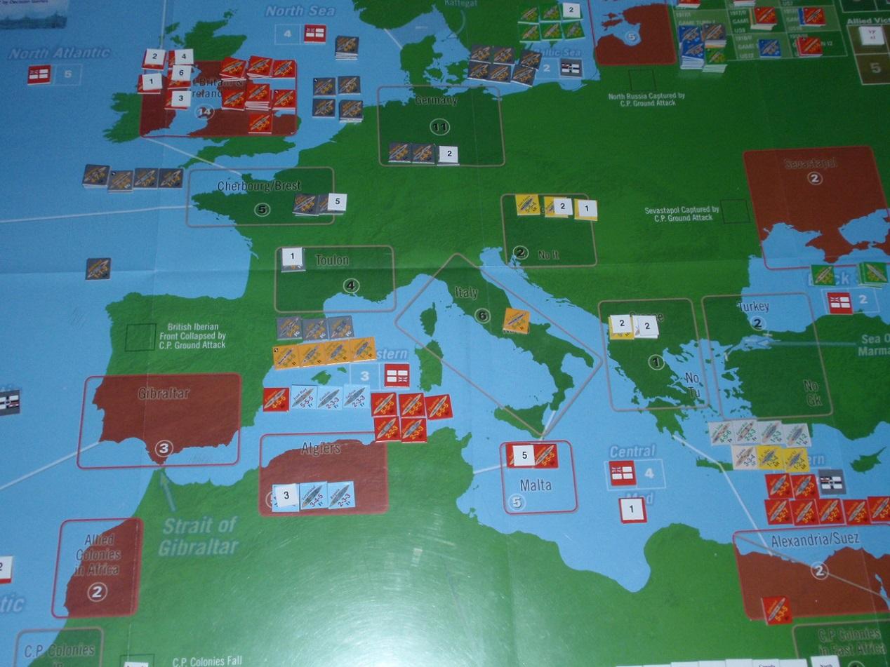 Decision Games「Nine Navies War」⑥_b0162202_18492187.jpg
