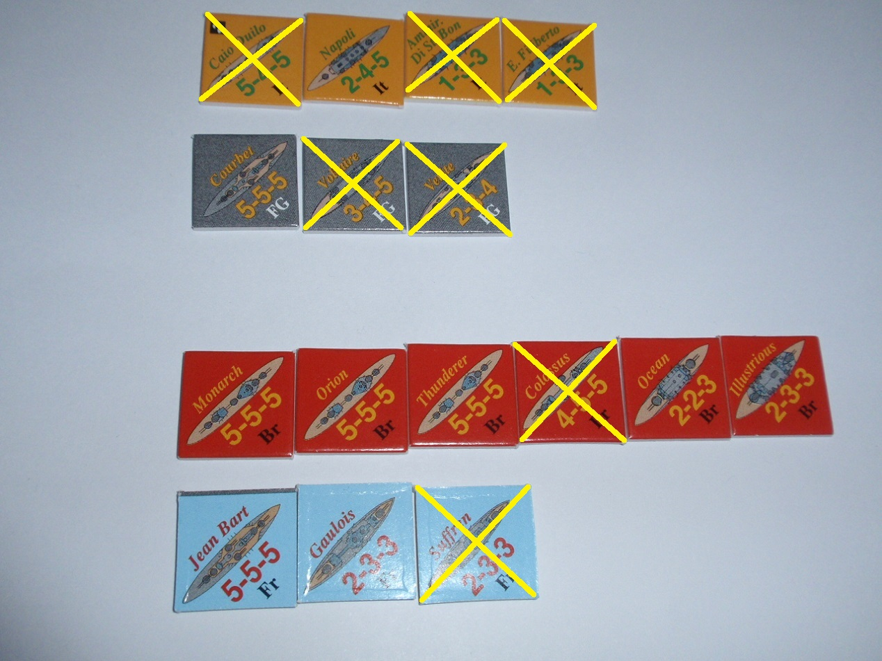 Decision Games「Nine Navies War」⑥_b0162202_18495641.jpg