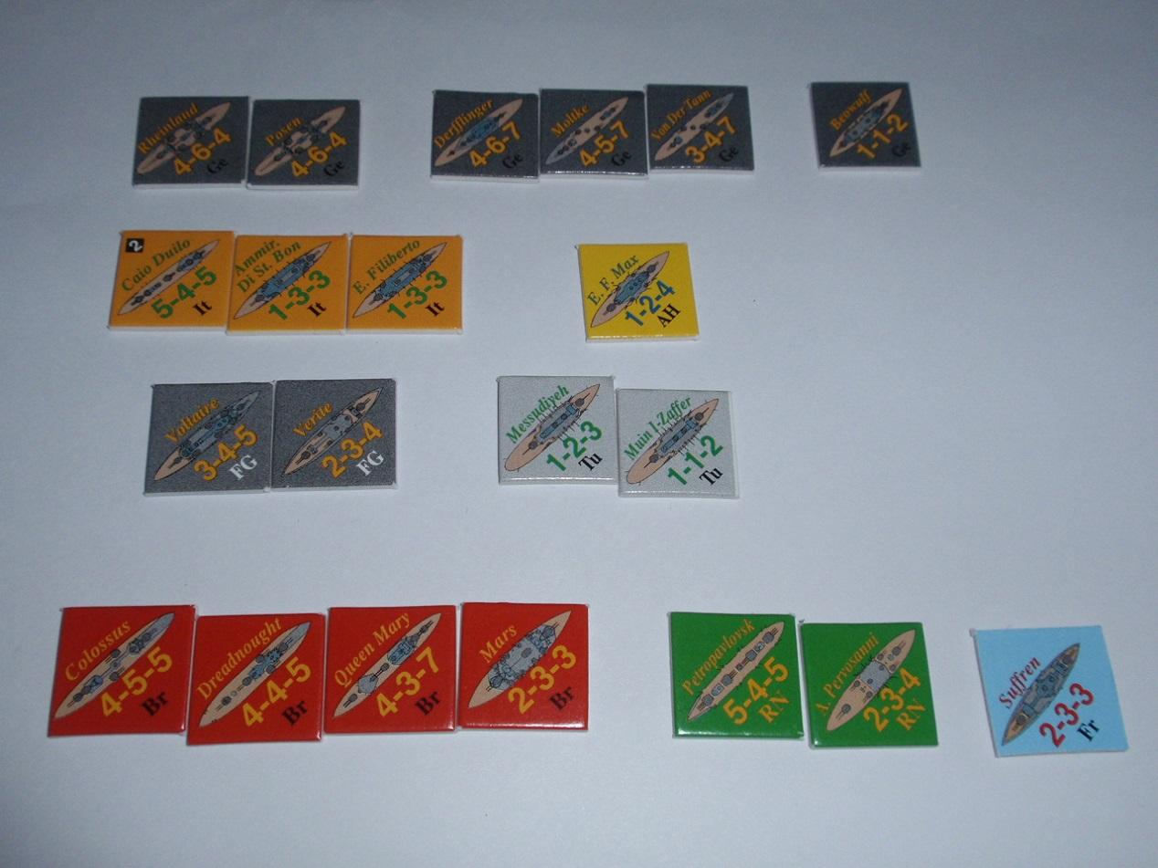 Decision Games「Nine Navies War」⑥_b0162202_18502495.jpg