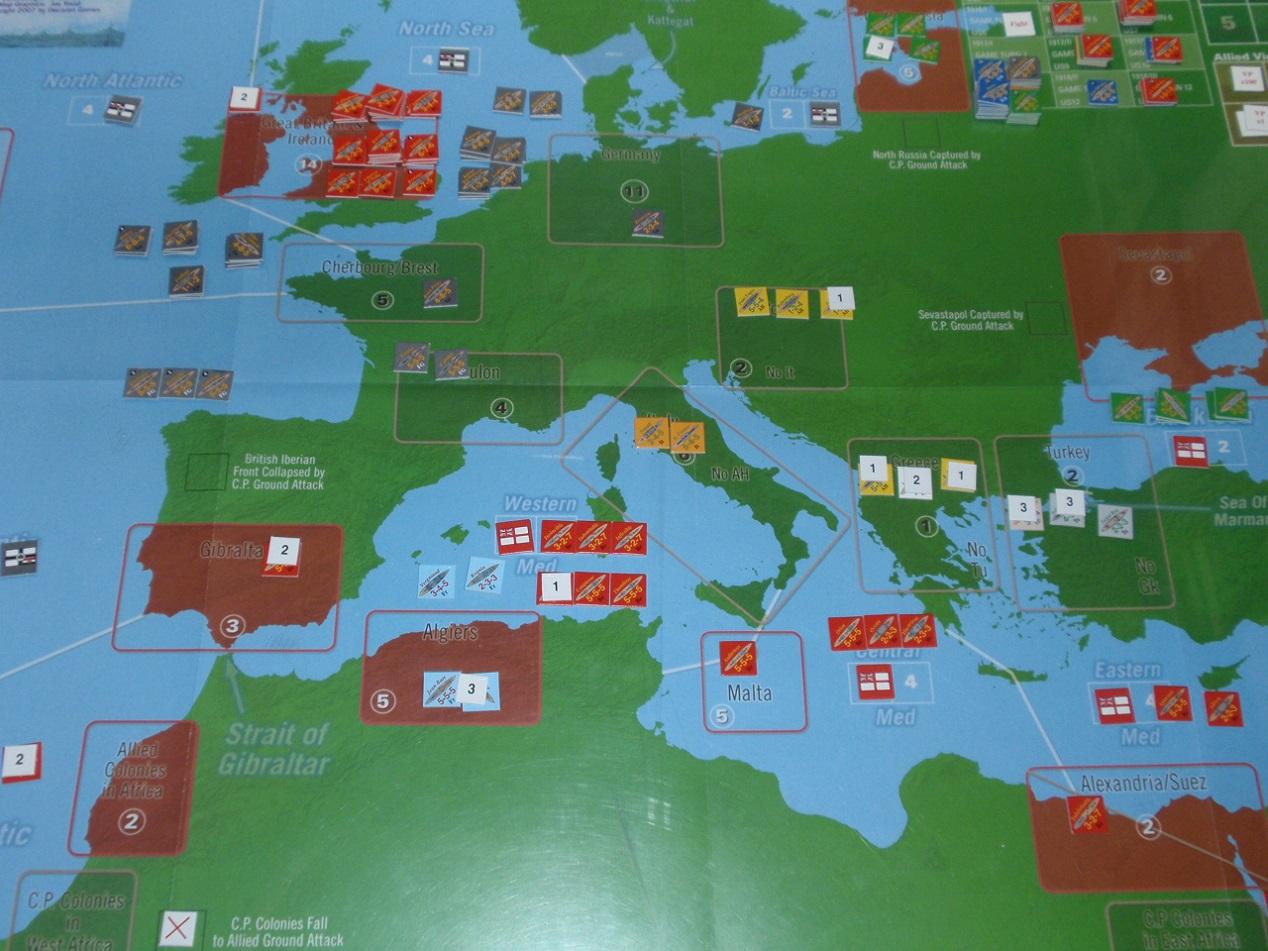 Decision Games「Nine Navies War」⑥_b0162202_18504698.jpg