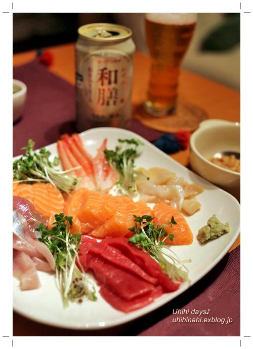 和膳 で 手巻き寿司♪_f0179404_745881.jpg