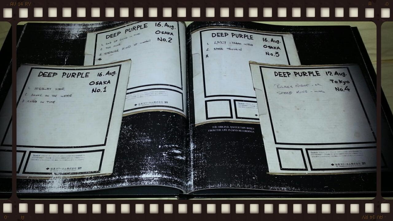 DEEP PURPLE / LIVE IN JAPAN SUPER DELUXE BOX その2_b0042308_23595690.jpg