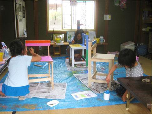 いよいよ椅子が完成!・比良 小学生クラス_f0211514_20202886.jpg