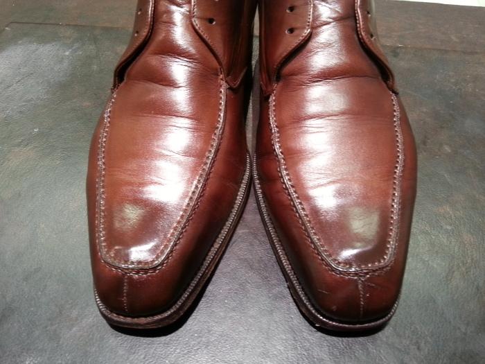 革靴、水洗い後の基本のケア~M.モゥブレイ・クリームで仕上げます~_b0226322_13121800.jpg