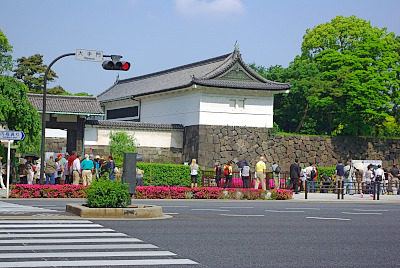 古地図を片手に東京散歩(2)皇居東御苑ほか_d0043136_21284337.jpg