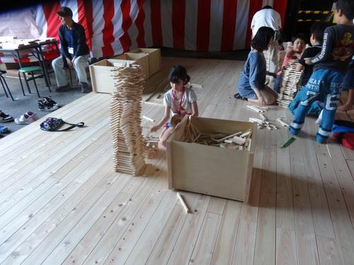 木材切り競争、張り切りすぎました。 山本忠さん、太田善博さん_c0103137_13241871.jpg