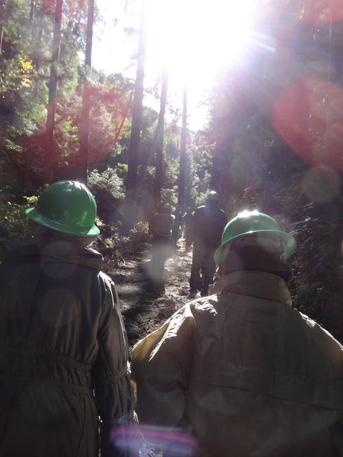 木材切り競争、張り切りすぎました。 山本忠さん、太田善博さん_c0103137_13305586.jpg