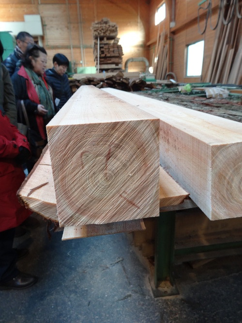 木材切り競争、張り切りすぎました。 山本忠さん、太田善博さん_c0103137_13444096.jpg