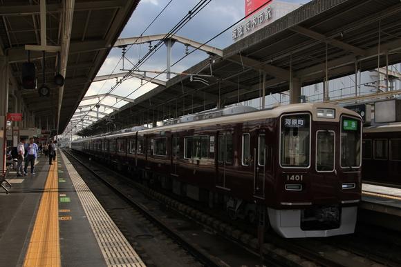 阪急1301F 準急運用_d0202264_17595767.jpg