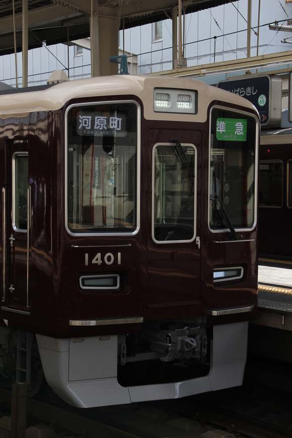 阪急1301F 準急運用_d0202264_18039100.jpg