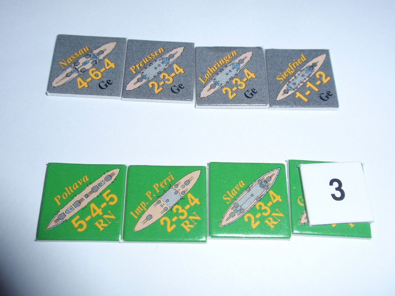 Decision Games「Nine Navies War」⑦_b0162202_23235450.jpg