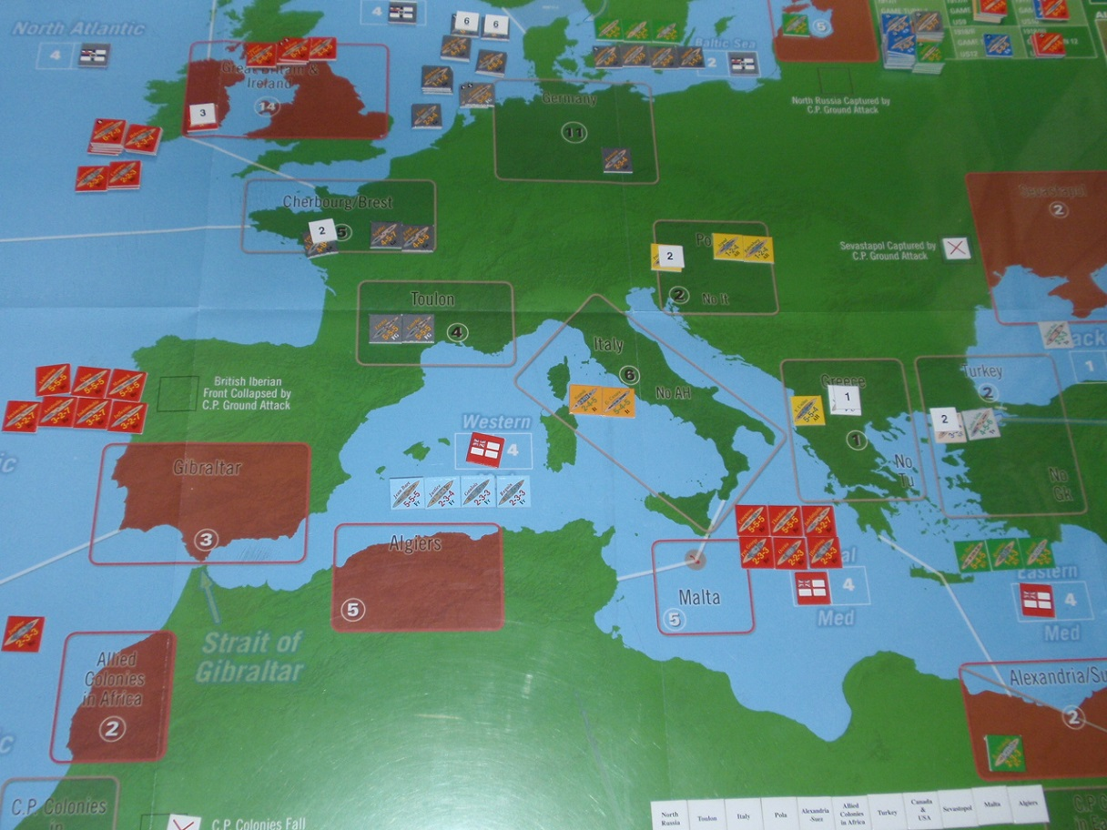 Decision Games「Nine Navies War」⑦_b0162202_23262321.jpg