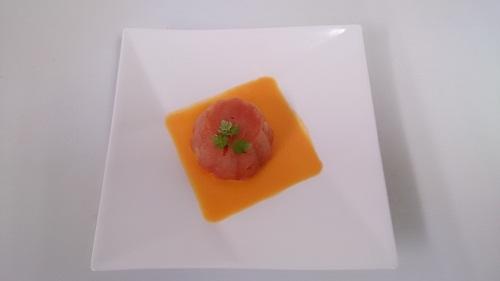 くまもと食財レシピより~スイカのシェル色シャーベット~_b0228113_13220772.jpg