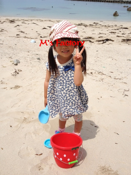 姫さま(息子の所の)夏物シリーズ 3_f0129726_2345541.jpg