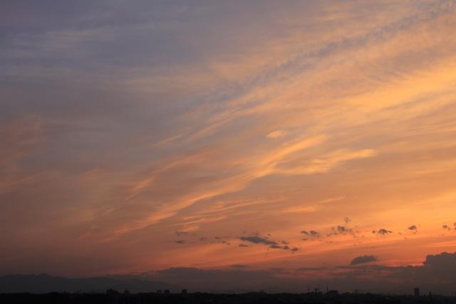 夕焼け。_f0348831_21185233.jpg