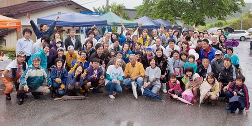 越喜来芸術祭+ウツワノチカラ+シェリーのラフラブ終了!_a0317164_03824.jpg