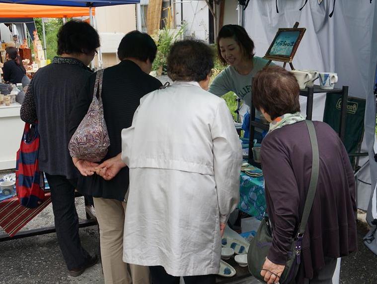 越喜来芸術祭+ウツワノチカラ+シェリーのラフラブ終了!_a0317164_1392715.jpg