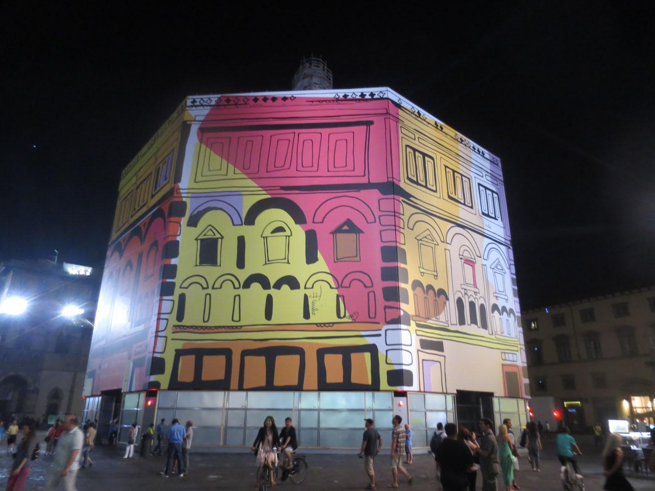 PITTI前のフィレンツェの街でこんなことが話題になってます!!_c0179785_6164392.jpg