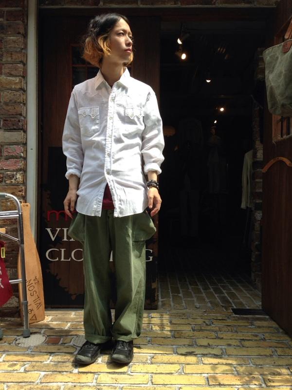 ポケットの位置がポイントです!!!(T.W.神戸店)_c0078587_14245990.jpg