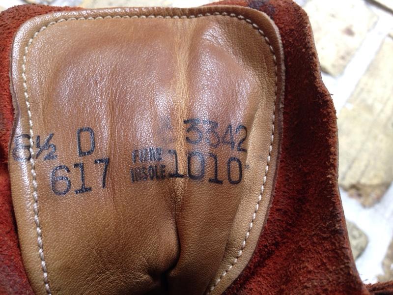 神戸店 6/18(水)ミッドウェスト入荷#3  やっぱり雰囲気が堪らないWork Boots!!!(T.W.神戸店)_c0078587_181362.jpg