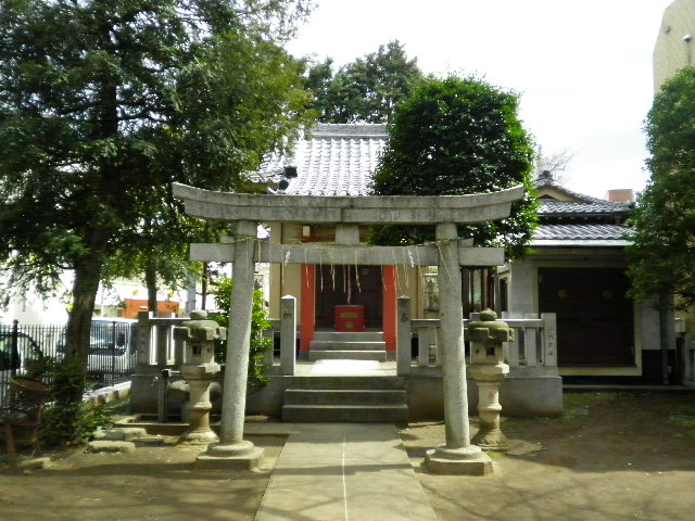板橋区弥生町 ◆豊敬稲荷神社◆_f0322193_925313.jpg