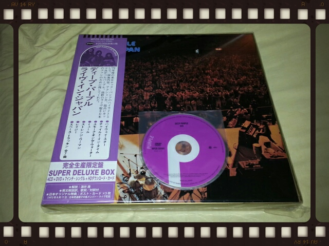DEEP PURPLE / LIVE IN JAPAN SUPER DELUXE BOX その3_b0042308_2236090.jpg