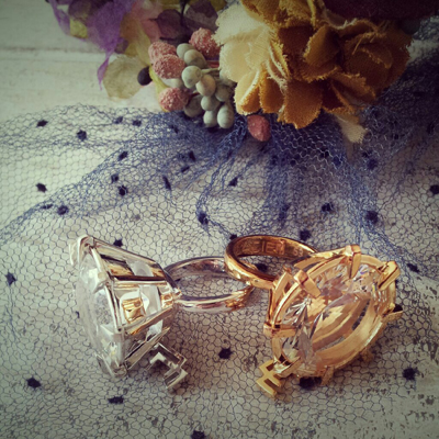 【LUCIEN ELEMENTS】CRYSTAL RING♡ by kayo_f0053343_1155567.jpg